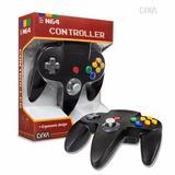 Control Consola N64 Nintendo 64 Marca Cirka Negro