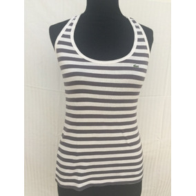 Musculosa Rayada Lacoste Talle S