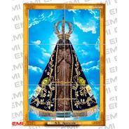 Quadro Azulejo Nossa Senhora Aparecida  30 X 45 Cm