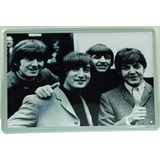 The Beatles Poster Metalico Retro - Coleccion Buen Regalo
