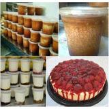 Hacer Quesillos Y Yogurt En Potes Plasticos Y Tortas Frias
