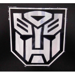 Figura De Transformers Pegable Para Carro Auto Sticker