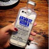 Estuche Iphone 6 6s Plus Botella Vodka Silicona Protector N