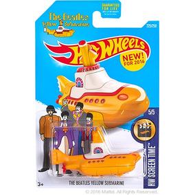 Hot Wheels Yellow Submarine The Beatles Unico De Coleccion