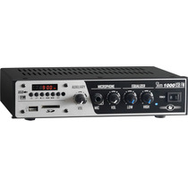 Amplificador Receiver Frahm Slim 1000 Usb Fm Sd Som Ambiente