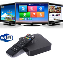 Smart Tv 4 Box Android Tv Quad Core Mxq Netflix Youtube Kodi
