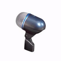 Microfono Moon M520b Para Bombo Bateria Percucion + Cable