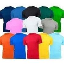 Remeras Lisas De Colores De Adulto Del S Al Xl