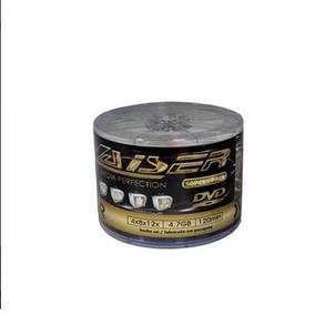 Dvd-r Laiser 50 Midias Virgem C/ Logo 4.7g Lacrado Com Nfe