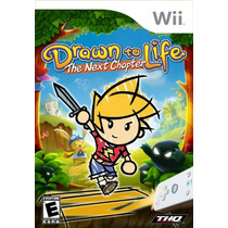 Drawn To Life To Next Chapter Wii Nuevo De Fabrica