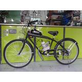 Bicicleta Con Motor Bicimoto 48cc Estilo Museta