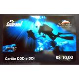 Cartão Celular Pré Pago Embratel Lago Azul T: 200 Amostra