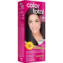 Coloração/tintura Permanente Color Total 3.66 Acaju Purpura