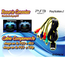 Cable Componente Ps2 Ps3 480p 720p Rosario