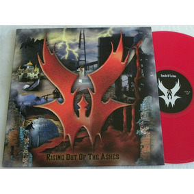 Warlord Rising Out The Ashes Lp Manowar Iron Maiden Saxon