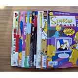 Los Simpson-lote13 Comics-color-reseña De Num.-bongo Vid-vbf