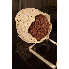 Touca (bonnet) Crochet ( Acessórios Para Fotos Newborn)