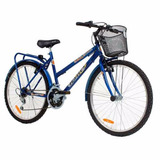 Bicicleta Halley Mountain Bike Lujo Paseo 19149 Rod 26mujer