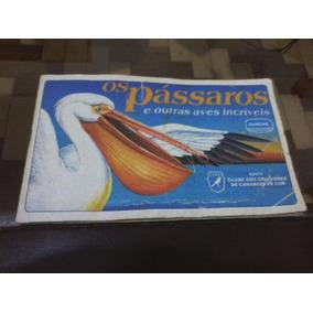 Álbum De Figurinhas Os Pássaros (danone)