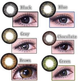 Pupilentes Ojo De Muñeca Big Eye Circle Lens Vivi Eye