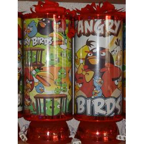 Angry Birds Recuerdos Centros De Mesa 1 Lampara De Regalo