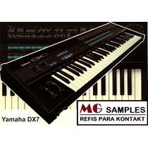 Yamaha Dx7 Kontakt Samples + Brindes (lindos Pianos El.)