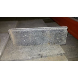 Zocalo Granitico Base Cemento -sin Pulir 10x30 Lote X 45ud