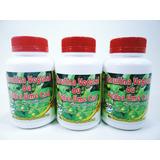 3 Frascos De Insulina Vegetal Pedra Ume Caá 60 Cáp Bio Fresh