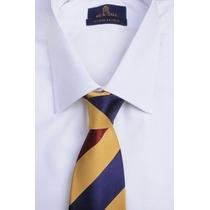 Camisa Blanca Con Ratier - Talle 50 - Big&tall - Imperdible