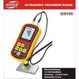 Medidor De Espessura Ultrassom + Certificado De Calibração