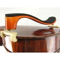 Espaleira De Madeira P/ Violino 3/4 Ou 4/4 Regulável/ Rajada