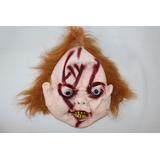Máscara Látex Chucky Halloween Terror Boneco Assassino Festa
