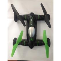 Drone E Carro Skyroad, Led 4 Canais Flycar 2 Em 1