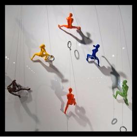 Esculturas Escaladores Por Encargo Climbers Navidad
