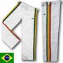 Calça Capoeira Jamaica Helanca Branca Free Sr. Bonfim Yoga