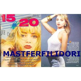 Angelica Rivera Revista 15ª20 Abril 1991 Thalia