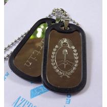 Dog Tags Chapitas Militares Acero Quirurgico. Pack Navidad