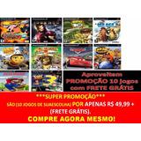 Madagascar 2 Escape Africa Play 2 (kit 10 Jogos Ps2 Infantil