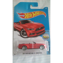 Hot Wheels Coleccion 2017 Ford Mustang Gt Convertible Rojo15