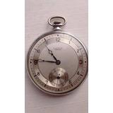Antiguo Reloj De Bolsillo Lanco Suizo Open Face