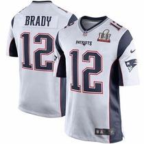 Camiseta Nfl Patriots Con Parche Super Bowl Brady