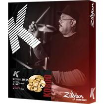 Kit De Pratos Zildjian K0800 Bateria Edição Limitada