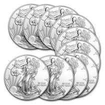Robmar-u.s.a.-1 Dolar Del 2014 -1 Onza Plata-0,999 + Capsula