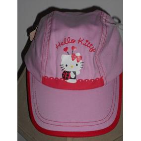 Hermosa Gorra Hello Kitty Rosa Para Niña! Nuevo