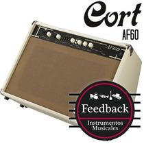 Cort Af60 - Amplificador P/ Guitarra Acústica 60w 2x8