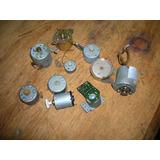 Diez Motores De Juguetes Tocadisco Meccano Lote 13