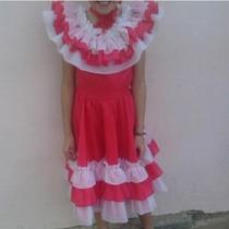 Vestido Llanero De Niña