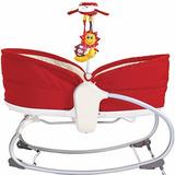 Cadeira Berço De Balanço Rocker Napper Vermelho - Tiny Love