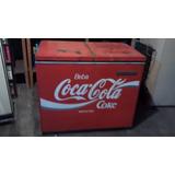Freezer Antigo Horizontal Duas Portas Coca Cola No Estado Zn