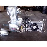 Motor 250 Refrigerado Agua Caja De 4ta Y Marcha Atras P/moto